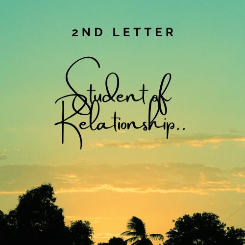 2nd Letter