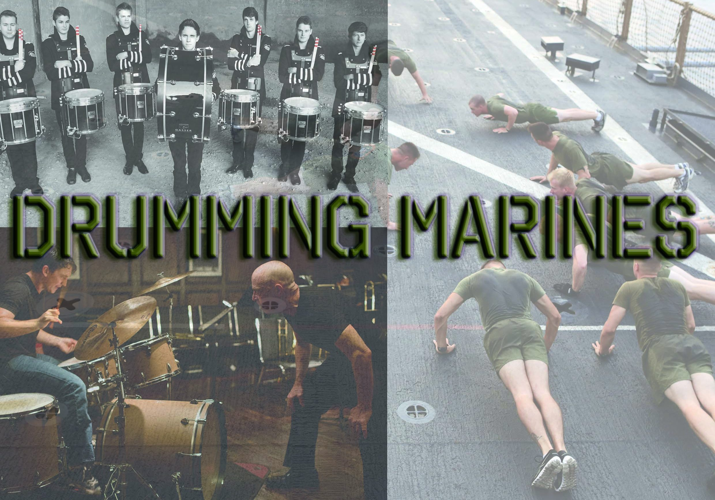 Drumming Marines Front (Lower quality)